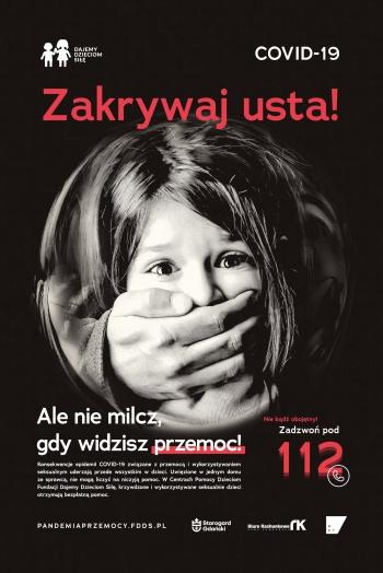 Pandemia-przemocy_Zakrywaj-usta_plakat-1-scaled