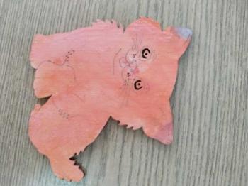 Kocie prace plastyczne wykonane przez uczniów klasy Ia (2)