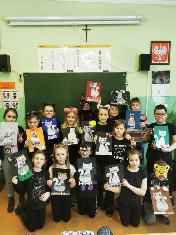 Światowy Dzień Kota w klasie IIa (20)