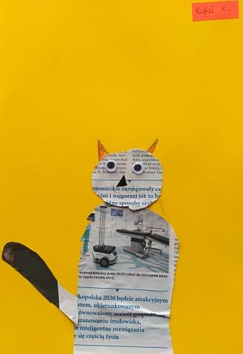 Kot Rafała Kaniewskiego z klasy IIb