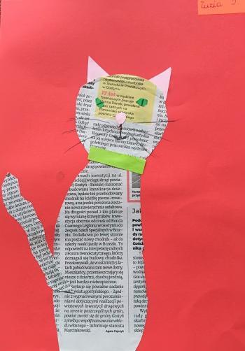 Kot Zuzanny Demskiej  z klasy IIb