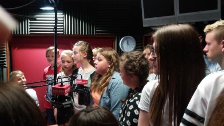 Wycieczka do Radia Elka w Lesznie 2018