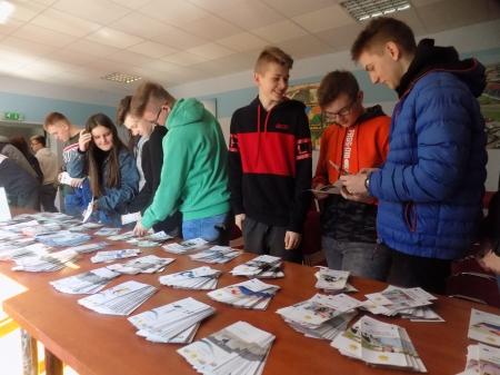 Spotkanie z doradcami zawodowymi  z Młodzieżowego Centrum Kariery OHP w Gostyn