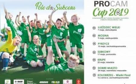 Sukces drużyny Szkoły Podstawowej w Pogorzeli w Turnieju PROCAM CUP 2019