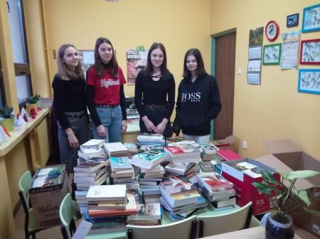 Akcja Szkolnego Klubu Wolontariatu