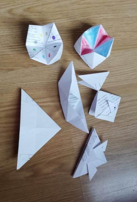 Zdalne zajęcia origami