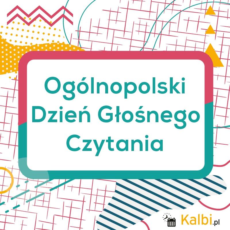 XX Ogólnopolski Dzień Głośnego Czytania Dzieciom
