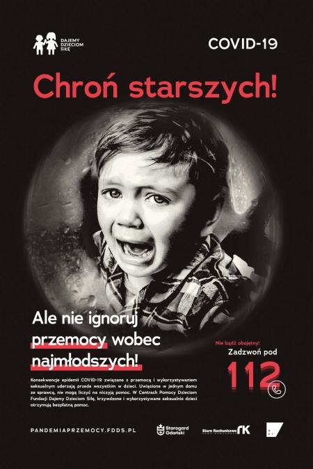 """Przemoc jak wirus. Rusza nowa kampania Fundacji Dajemy Dzieciom Siłę """"Pandemia przemoc"""