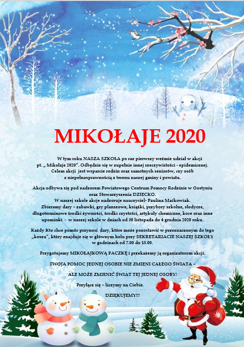 MIKOŁAJE 2020
